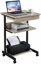 Yaheetech - Schreibtisch Computertisch Bürotisch