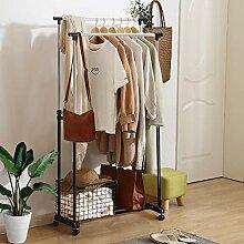 Yaheetech stabil Kleiderständer Wäscheständer