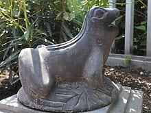 Yajutang Frosch naturstein Brunnen Figur für