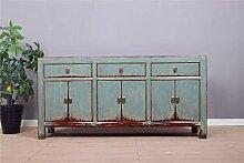 Yajutang Sideboard 6 Türen 3 Schubladen Langer