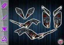 Yamaha Raptor 700 Aufkleber – Graphik-Set –