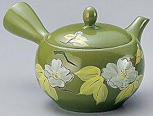 Yamakiikai Grüne Kanne(japanische Teekanne) mit