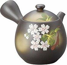 Yamakiikai Pottery Kyusu (japanische Teekanne) mit