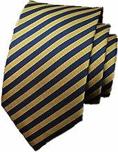 Yamyannie Herren Krawatte Männer Krawatte Mode