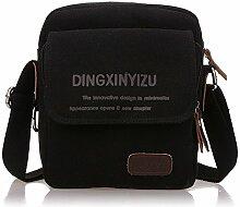 Yamyannie Männer Dame Portable Bag Casual Outdoor Aktentasche Schulter Messenger Satchel Crossbody Handtasche Geschenk vorhanden (Farbe : Chocolate Color)
