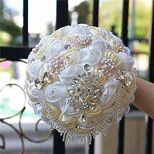 Yamyannie Netz-Blume Stirnband handgefertigte