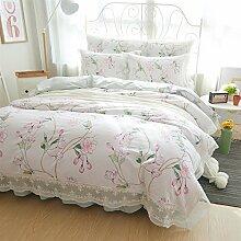 YAN Bed Set Duvet/Bettbezug Bettwäsche Set mit