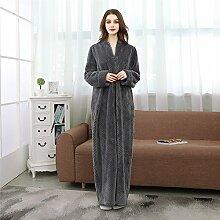 YAN Damenbekleidung, Housecoat + Taschen, Plus