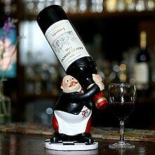 YAN Kreative Weinregal Europäischen Dekoration