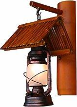 yan Long Home Wandlampe, Retro-Nostalgie Antike