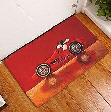 YAN Teppich Cartoon Süße rutschfeste Wohnzimmer