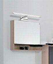 YAN ZHEN LED - Spiegel Vorne Lichter Spiegel Schrank Lichter Toilette Toilette Make - Up Dresser Spiegelleuchten Wandleuchte ( farbe : Weißes Licht-68cm-20w )