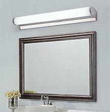 YAN ZHEN Led Spiegel Vorne Lichter Wasserdicht Anti-Fog Spiegel Schrank Lichter Badezimmer Toilette Make-up Kosmetiktisch Spiegelleuchten Einfache Wandleuchte ( größe : 56.5CM-9W )