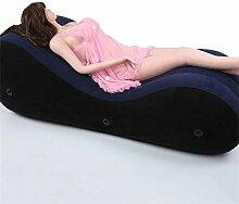 Yanan Tragbares Aufblasbares Sofa for Stützbett
