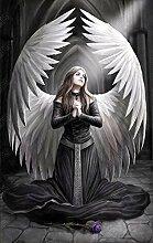 YANCONG Türtapete Selbstklebend Türposter Engel