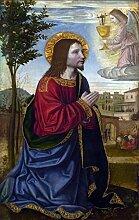 YANCONG Türtapete Selbstklebend Türposter Jesus