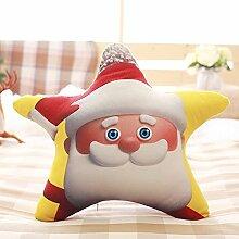 Yancyong Santa Claus Rentiere Schneemann Kissen,