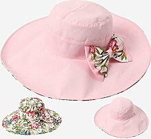 YANFEI Hut Visier Hut Doppelseitige Kleidung