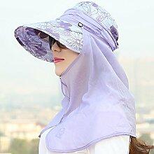YANFEI Hut Visier Hut Sonnenschutz UV-Schutz Im