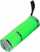 YanFeng Mini LED Taschenlampe justierbare Fokus-Licht-Lampe Kunststoff, Rosa