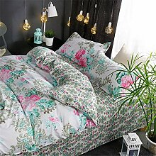 YANG Baumwolle Bettwäsche Set Frühling und