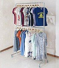 YANG Tragbarer Kleiderständer mit Doppelter