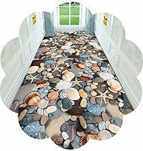 YANGJUN-Läufer Teppich Flur Teppichläufer 3D