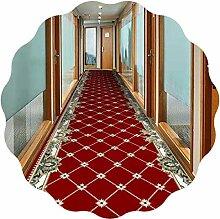 YANGJUN-Läufer Teppich Flur Teppichläufer
