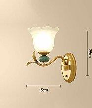 YangMi Wandlampe- Europäische Wandleuchte,