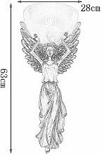 YangMi Wandlampe- Nordic Retro Angel Wandleuchte,