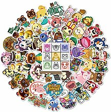 YANGQIAN Tierkreuzungsaufkleber 50 Animal Crossing