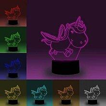 Yangqing LED-Lampe, 3D-Design, niedliches