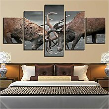 YANGSHUANG Leinwandbilder Für Wohnzimmer