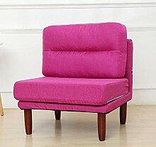 Yangxuelian Sofa Stuhl Gepolsterte Holzliege