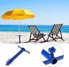 Yanhonin Sonnenschirmhalter für Strand, Sand oder
