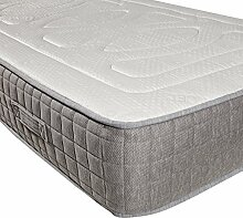 Yanis Latex Bliss Matratze medium, Textil, weiß, 150x200cm