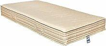 Yanis Original Matratze Latex Bio Fest, Textil, beige, 135x190cm