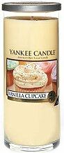 Yankee Candle Decor Large Pillar Vanilla Cupcake
