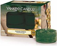 Yankee Candle Duft-Teelicht   Singing Carols   12