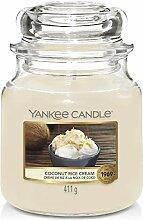 Yankee Candle Duftkerze, Glas, Creme, 411g