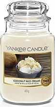 Yankee Candle Duftkerze, Glas, Creme, 623g