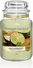 Yankee Candle Duftkerze, Glas, grün, 623 g
