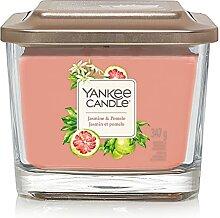 Yankee Candle Duftkerze, Glas, Peach, 347g