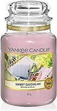 Yankee Candle Duftkerze, Glas, Peach, 623g