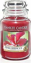 Yankee Candle Duftkerze, Glas, Rot, Large