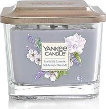 Yankee Candle Duftkerze, Glas, violett, 347 g