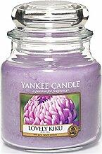 Yankee Candle Duftkerze, Glas, Violett, M
