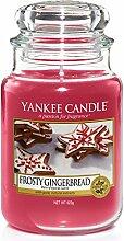 Yankee Candle-Duftkerze im Glas, groß, Frosty