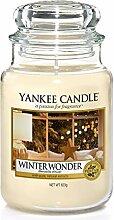 Yankee Candle-Duftkerze im Glas, groß, Winter
