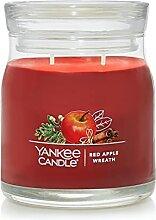 Yankee Candle Duftkerze im Glas mit rotem